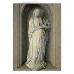 St. Genevieve , c.1479 Card