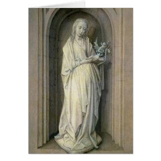 St. Genevieve, c.1479 Tarjeta De Felicitación