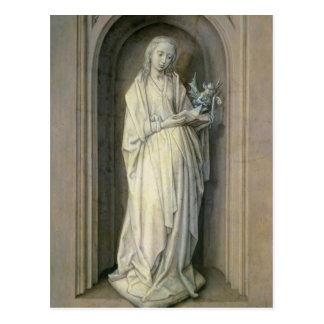 St. Genevieve, c.1479 Tarjeta Postal