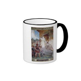 St. Genevieve Calming the Parisians Coffee Mug