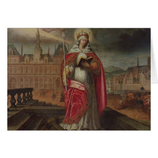 St Genevieve Greeting Cards