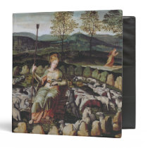 St. Genevieve Guarding her Flock Binder