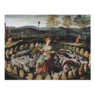 St. Genevieve Guarding her Flock Postcards