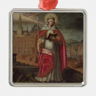 St. Genevieve Christmas Ornament