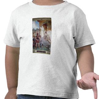 St. Genevieve que calma el Parisians Camisetas