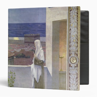 St. Genevieve Watches Over the Sleeping City 3 Ring Binder