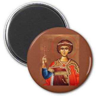 st. george 2 inch round magnet