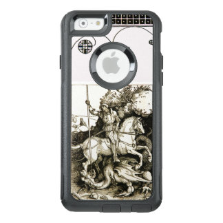ST. GEORGE AND DRAGON , Black White OtterBox iPhone 6/6s Case