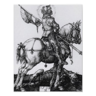 St. George and the Dragon, 1508 Poster