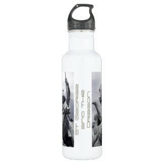 St George and the Dragon 24oz Water Bottle