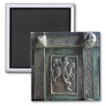 St. George and the Dragon 2 Inch Square Magnet