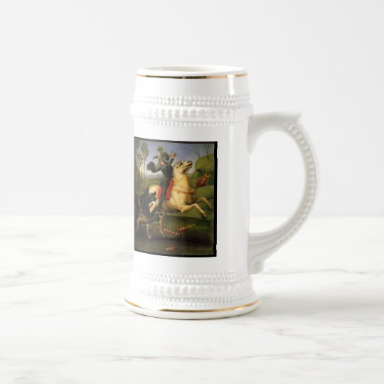 St.George and the Dragon Beer Stein
