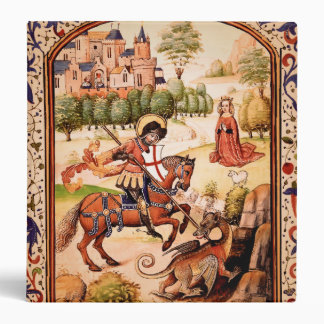 St. George and the Dragon Binder