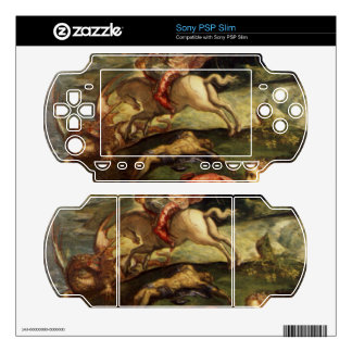 St. George and the Dragon by Tintoretto Decals For Sony PSP Slim