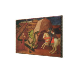 St. George and the Dragon, c.1439-40 Gallery Wrapped Canvas