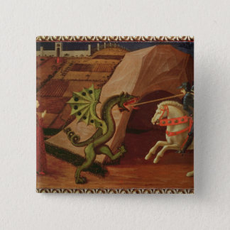St. George and the Dragon, c.1439-40 Pinback Button