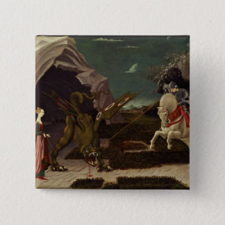 St. George and the Dragon, c.1470 Button