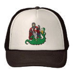 St George and the Dragon Cap