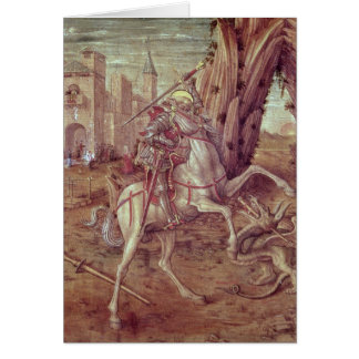 St. George and the Dragon Card