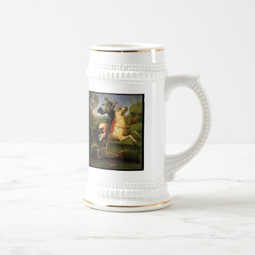 St George and the Dragon Coffee Mug