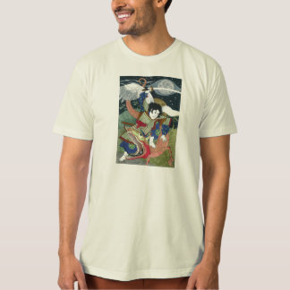 St. George and the Dragon - Japanese Icon T Shirt