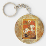 """St.George and the Dragon"" Keychains"