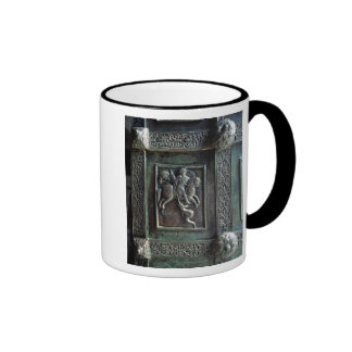 St. George and the Dragon Ringer Coffee Mug