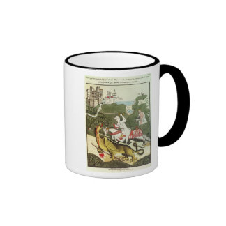 St. George and the Dragon Coffee Mugs