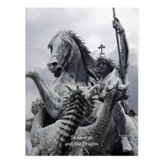 St George and the Dragon Postcard