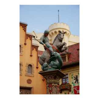 St. George and the Dragon Poster