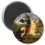 St George and the Dragon Refrigerator Magnets