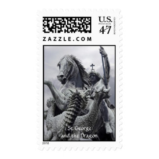 St George and the Dragon Stamp