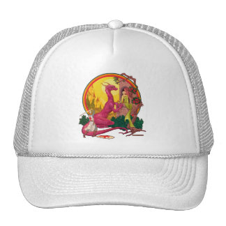 St.George and the Dragon Trucker Hat