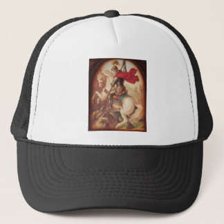St. George and the Dragon Trucker Hat
