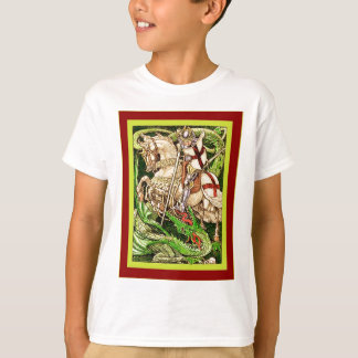 St. George and the Dragon  ~ Vintage Art Nouveau T-Shirt