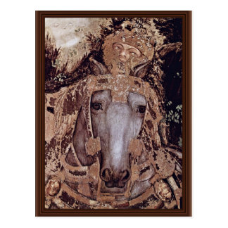 St. George And The Princess Details By Pisanello Postcard