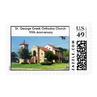 St. George Anniversay Postage