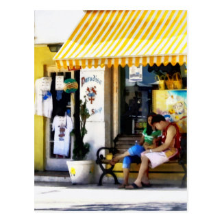 St. George Bermuda - Shopping on a Sunny Afternoon Postcard