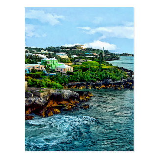 St. George Bermuda Shoreline Postcard