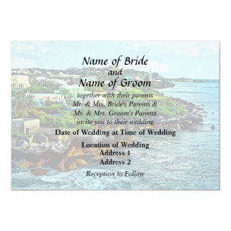 St. George Bermuda Shoreline Wedding Products Card
