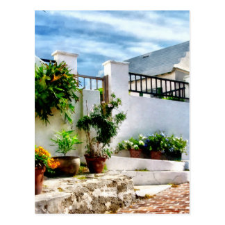 St George Bermuda - Sunny Street Postcard