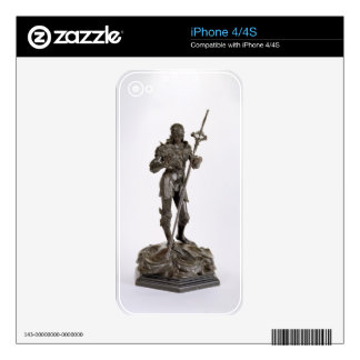 St. George (bronze) Decal For The iPhone 4S