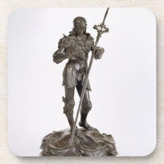 St. George (bronze) Drink Coaster
