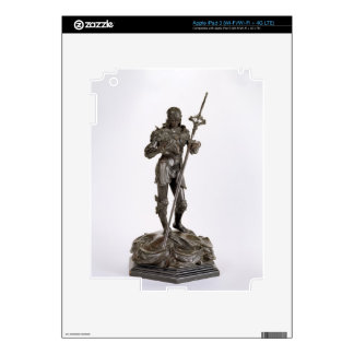 St. George (bronze) iPad 3 Decal