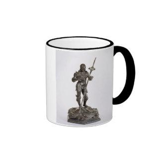 St. George (bronze) Ringer Coffee Mug