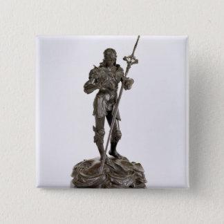 St. George (bronze) Pinback Button
