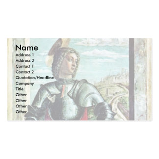 St George By Andrea Mantegna Double-Sided Standard Business Cards (Pack Of 100)