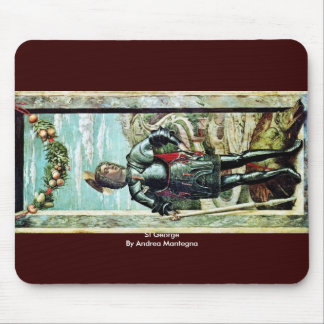 St George By Andrea Mantegna Mouse Pad