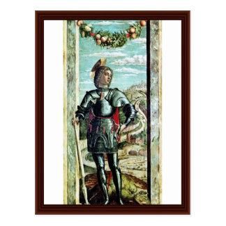 St George By Andrea Mantegna Postcard