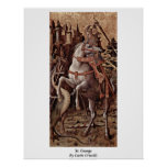 St. George By Carlo Crivelli Posters